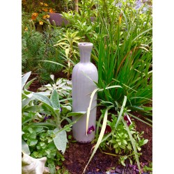 Vase en céramique Waterproof taupe antique