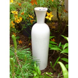 Vase en céramique waterproof blanc antique